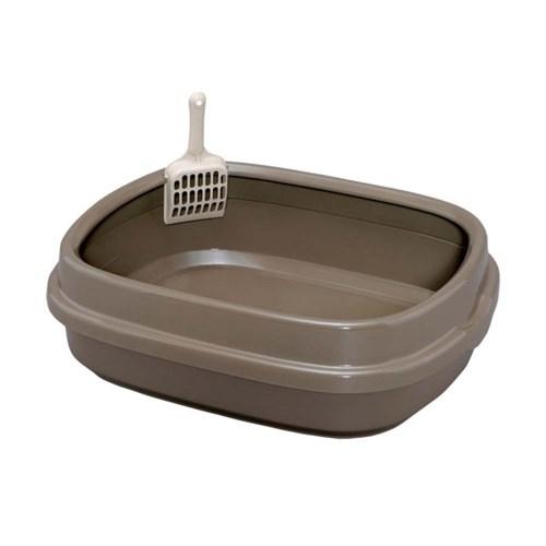 아이리스 기본형 고양이 화장실 삽포함 NE-550 브라운