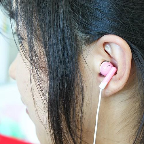칼라 무통증 이어폰
