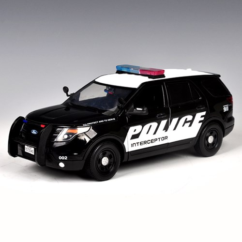 [모터맥스]1:24 2015 포드 SUV 경찰 순찰자(537M76954BK)