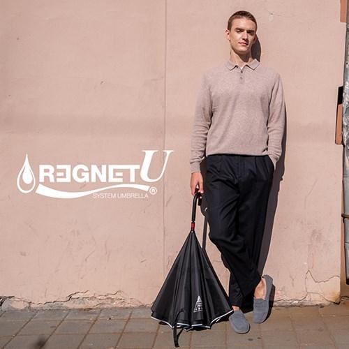 레그넷 U. 환경을 생각한 에코 자동 거꾸로 우산(펼때_(1301563)