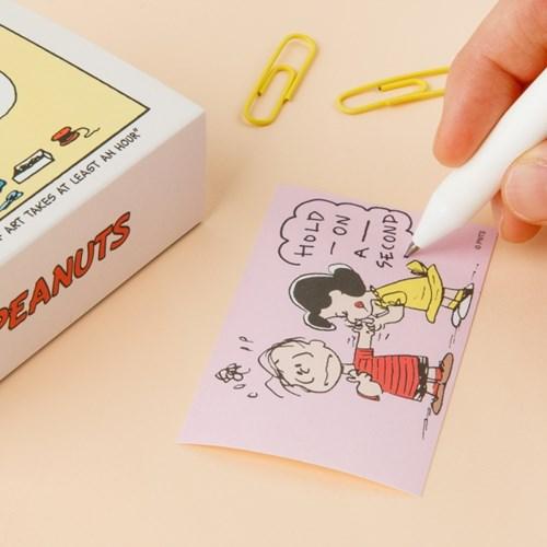 [Peanuts] 코믹스 스티커 세트_루시