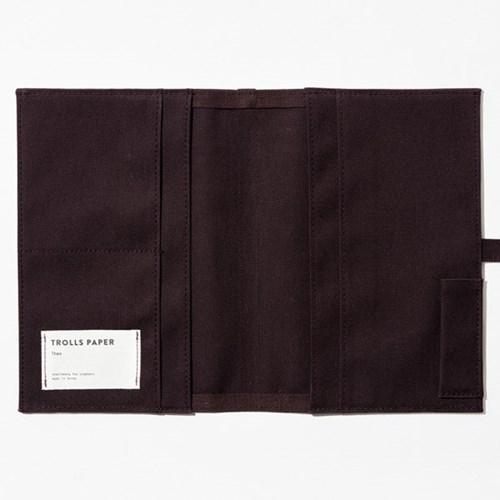 Soft fabric jacket - Burgundy