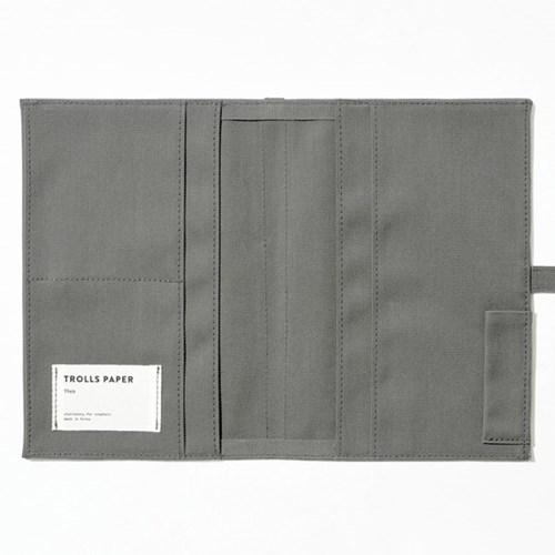 Soft fabric jacket - Charcoal