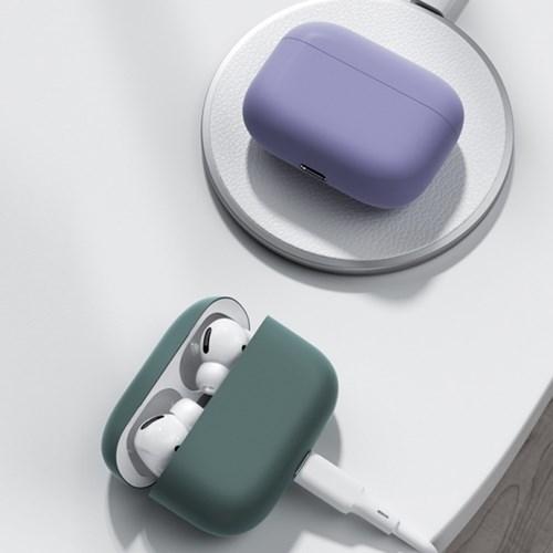 위시비 벤크스 에어팟프로 소프트 슬림 실리콘 케이스