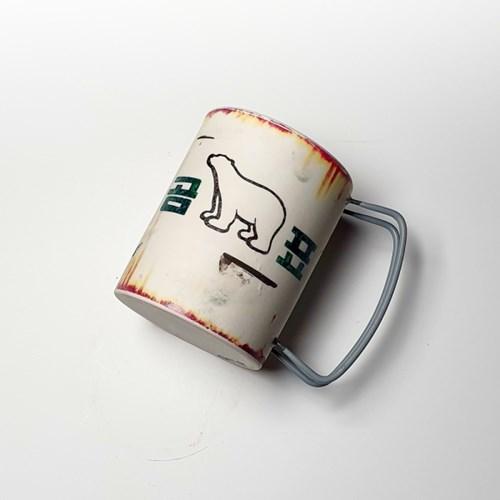 [딥코발트] 곰표 머그컵 M