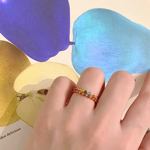 [비즈 반지] 비즈링