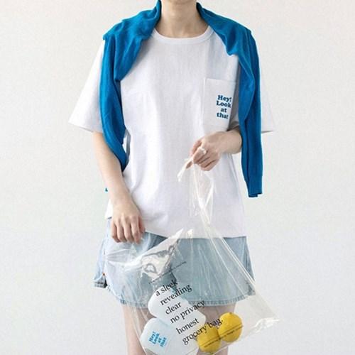 [디즈니] 레터링 티셔츠_도날드덕