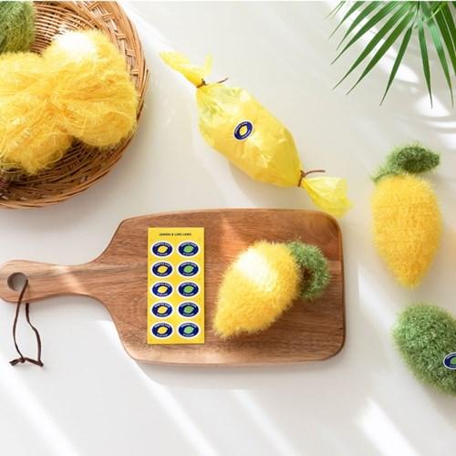 hobbyful 하비풀 바이유어핸즈의 상콤 레몬 수세미 뜨기 클래스