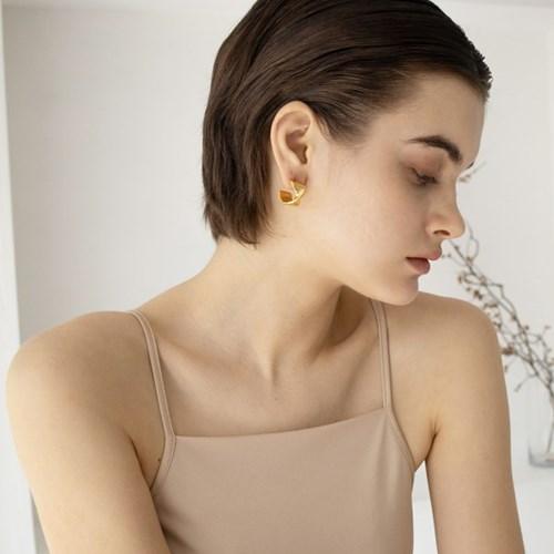 Mini Sunrise earring (gold)