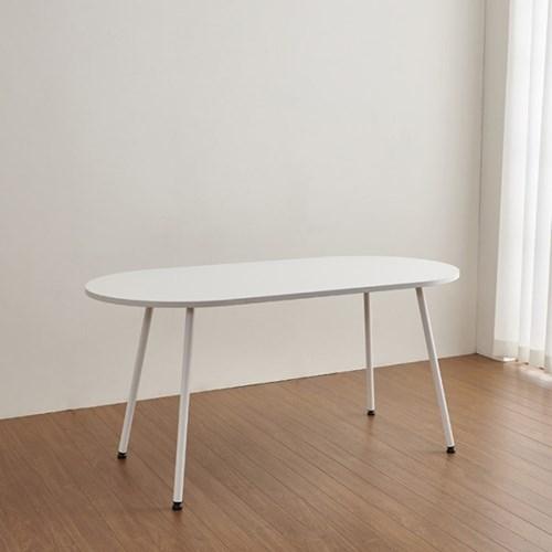 마레 6인용 타원형 테이블 (의자별도)