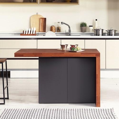 [데코마인] 엔슬리 아일랜드 식탁 1200 A형 홈바테이블