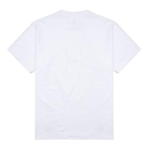 23.65 EMOTICON HALF T-SHIRT WHITE/RED