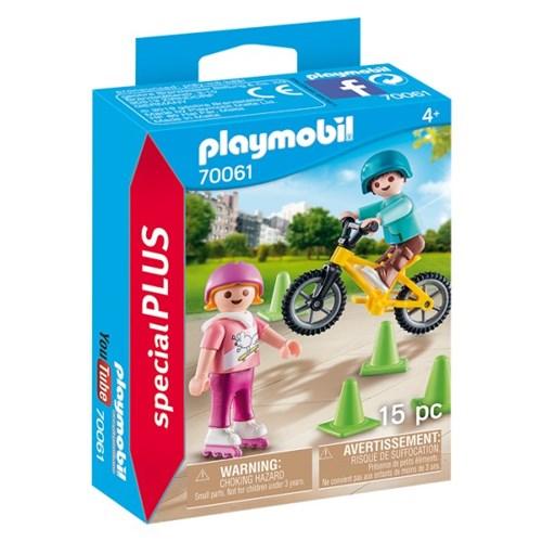 플레이모빌 스케이트와 자전거(70061)