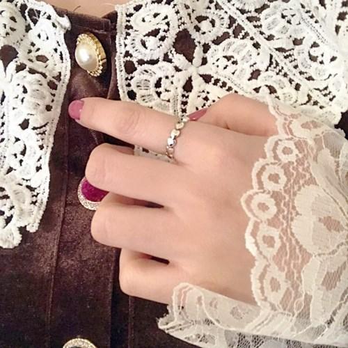 [925silver 하트 반지] 하트쉐입링