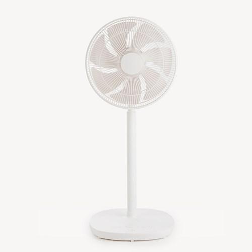 [6/15 예약발송] 르젠 앱구동 모던라이프 BLDC 선풍기 화이트