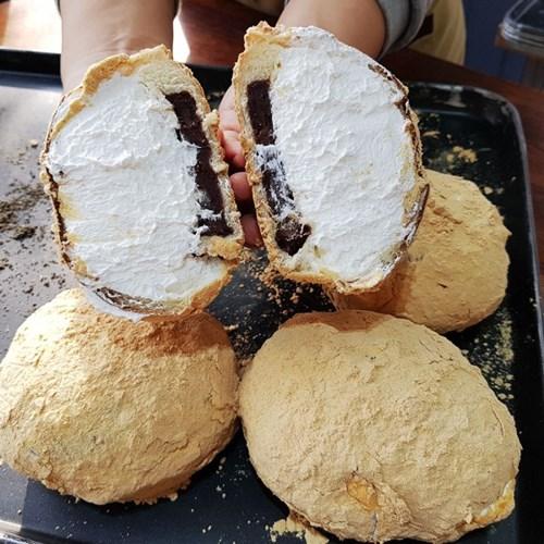 인절미 단팥크림빵 소부당 고소한 인절미 흑임자 생크림 단팥빵