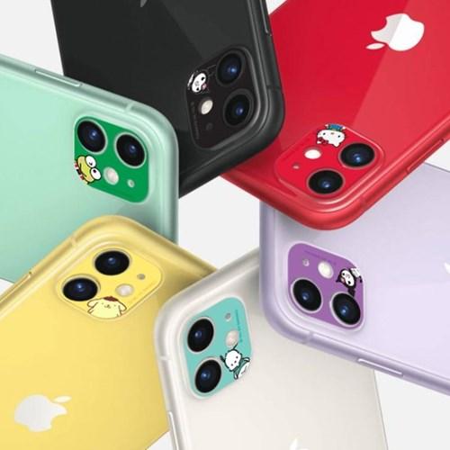 산리오 캐릭터 아이폰11/12 시리즈 렌즈 커버