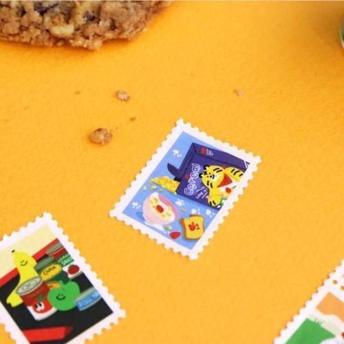 아이코닉 우표 마스킹테이프 메리