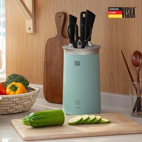 비스카(VISKA) UV LED 멀티 칼가위 살균건조기 VK-SD5000KN