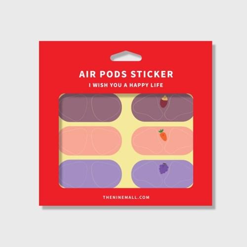 refreshing 시리즈 에어팟 철가루 방지스티커