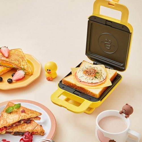 라인프렌즈 x joyoung 샌드위치 와플 메이커