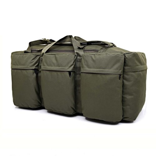 90L 콜럼 카키 대용량 더플백 여행가방 백팩