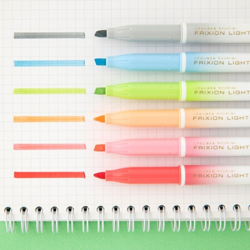 pilot frixon light light natural 6colors