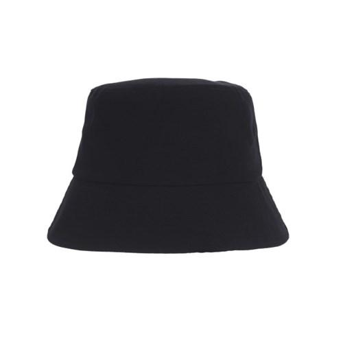 NCT 제노 착용 [바잘] 헤링본 라벨 버킷햇 블랙