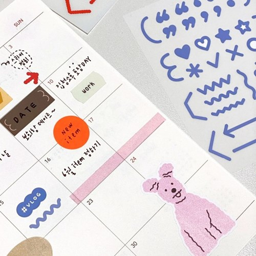 oab mark sticker / line