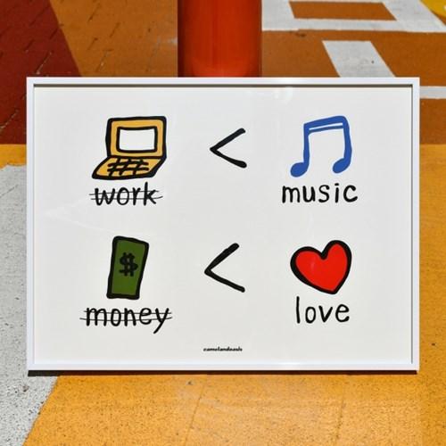 [카멜앤오아시스] The Signs of Good Life 굿라이프 포스터