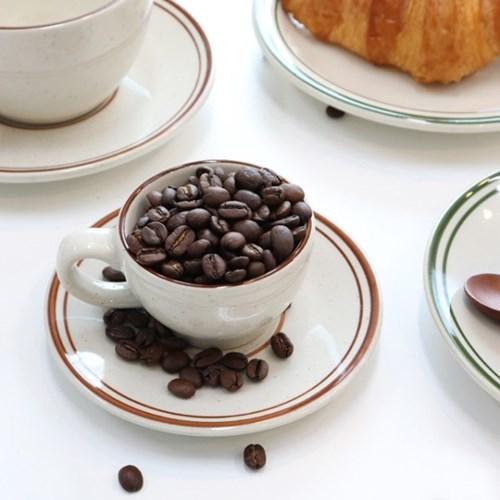 뉴욕 레트로 커피잔세트