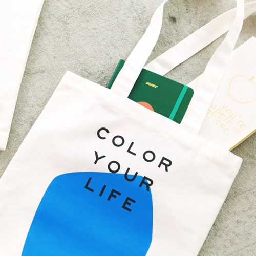 COLOR YOUR LIFE BAG_BLUE PRINT