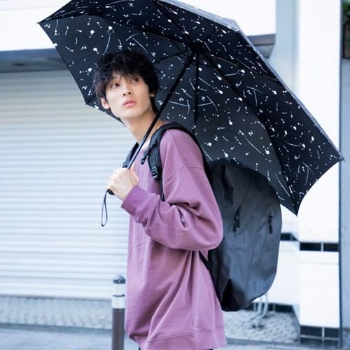 wpc우산 백팩 보호 미니 3단 우산 MSS