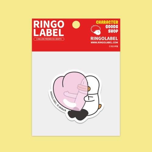 [링고라벨] 오우덕 PVC 스티커팩 액션 4pcs