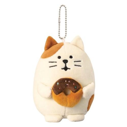 데꼴 쫀득 키링 인형 고양이