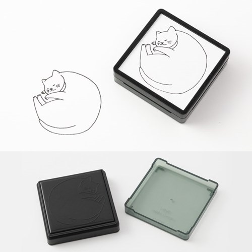 Paintable Stamp v.2 Daily Life - Cat