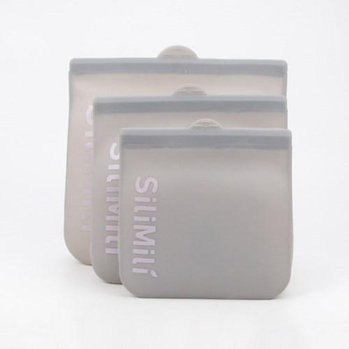 [실리밀리] 리유저블 리퀴드 액체보관 실리콘 지퍼백 1300ml