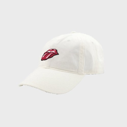 [Smathers&Branson]Adult`s Hats Rolling Stones on White