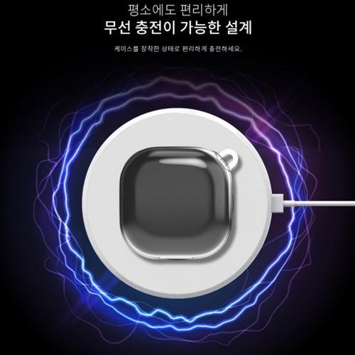 소울_갤럭시 버즈 라이브&프로(공용) 투명 케이스(무료배송)