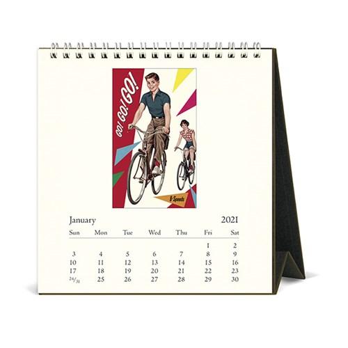 2021년 데스크캘린더 Vintage Bicycles