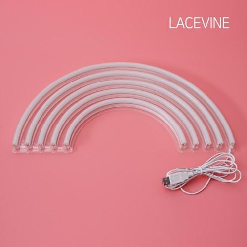 LED 네온사인 무지개 레인보우 아트네온 인테리어조명
