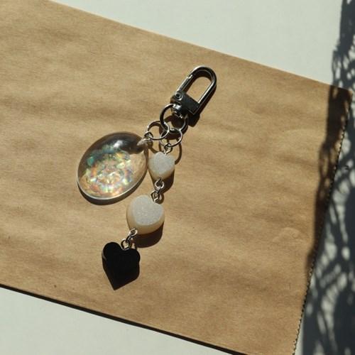 물봄꽃 키링 열쇠고리