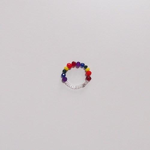 rainbow_daily_r 레인보우 데일리 비즈반지
