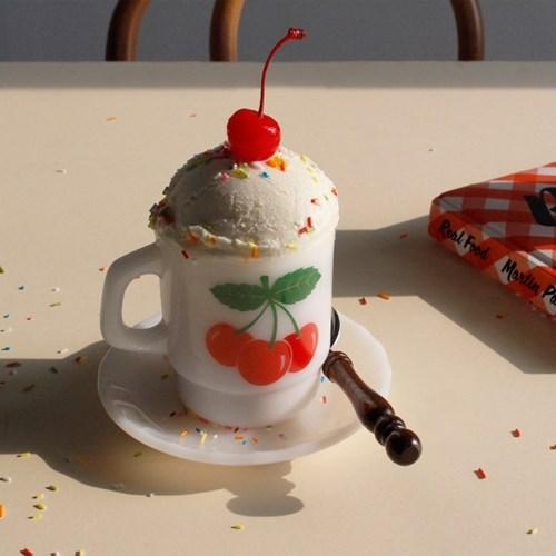 밀크 글라스 컵 (4종)