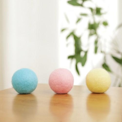 펫케어 캣드리볼 (소리나는 캣닢 양모볼)