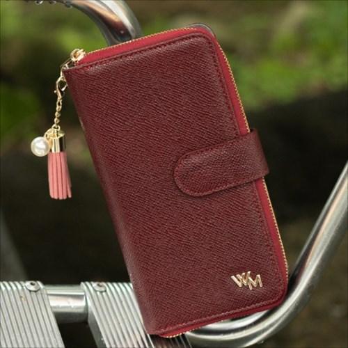 LG X6 (X625) Brahms_Wallet 천연소가죽지퍼 지갑 다이_(2866001)