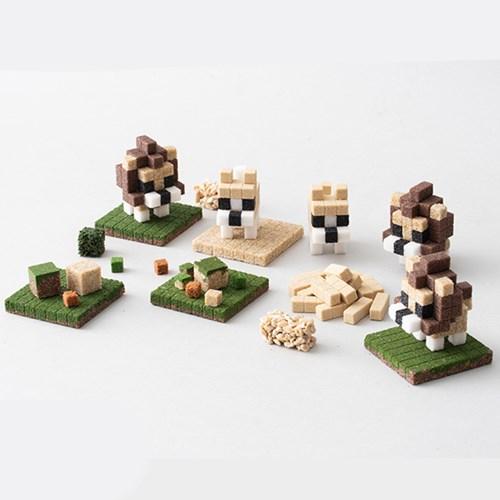 강아지 모래블럭 키트