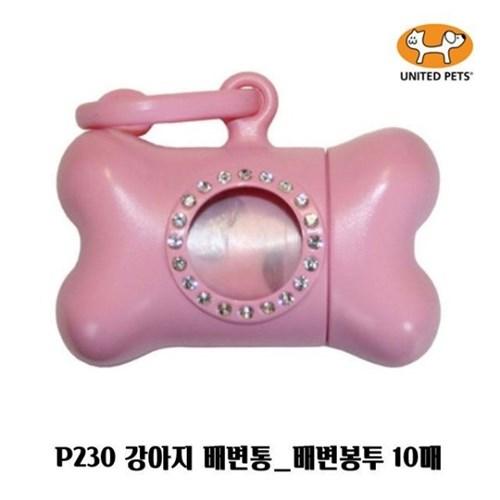 P230 강아지 배변통 배변봉투 10매 풉백 색상랜덤