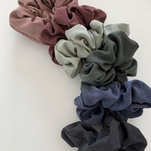 [바로배송] 데일리 매트 곱창머리끈 Lsize 11colors