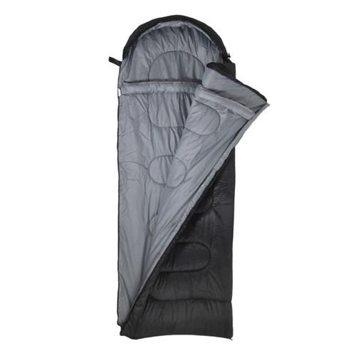 스노우아울 캠핑 침낭 코쿤 머미형 블랙 슬리핑 백 M1600